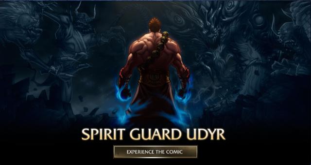 Spirit Guard Udyr comi
