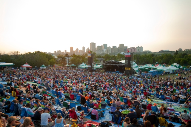 EFMF-Main stage view
